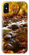 Fall Flow At Mcgee Creek IPhone Case