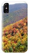 Fall Folage 2 Along The Blueridge IPhone Case
