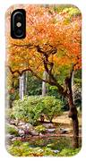 Fall Folage And Pond 2 IPhone Case