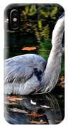 Fall Foliage And Fowl IPhone Case