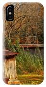 Fall Foliage At Meems Bottom Bridge IPhone Case