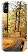 Fall Foliage In New England IPhone Case