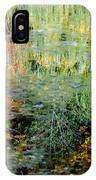Fall Foliage Reflection 3 IPhone Case