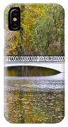 Fall Footbridge IPhone Case