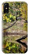 Fall From The Water IPhone Case
