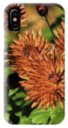 Fall Garden Flowers IPhone Case