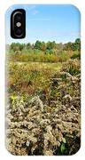 Fall Goldenrod Field IPhone Case