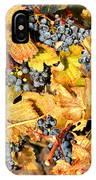 Fall Grapes IPhone Case