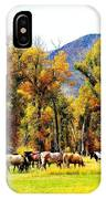 Fall Grazing IPhone Case