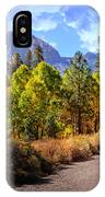 Fall Hiking In The High Sierras IPhone Case