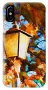 Fall In The Air IPhone Case