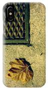 Fall In The City IPhone Case