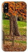 Fall In The Gardens IPhone Case