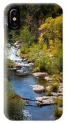 Fall In The Mountains IPhone Case