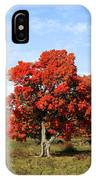 Fall In The Pastures IPhone Case