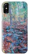 Fall In The Woodlands IPhone Case