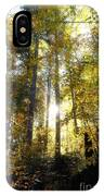 Fall In The Woods Close To The Elmau IPhone Case
