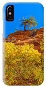 Fall In Zion IPhone Case