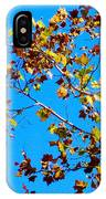 Fall-ing Leaves IPhone Case