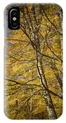 Fall Leaves And Trees In West Michigan No171 IPhone Case
