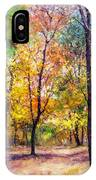Fall Leaves At Indiana University IPhone Case