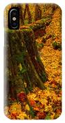 Fall Leaves Mosaic IPhone Case
