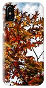 Fall Maple Leaves IPhone Case