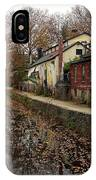 Fall On The Canal IPhone Case