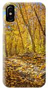 Fall On The Forest Floor IPhone Case