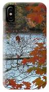 Fall On The Shetucket IPhone Case