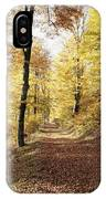 Fall Path IPhone Case