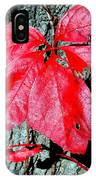 Fall Red Leaf IPhone Case