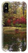 Fall Reflection And Colors IPhone Case