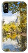 Fall Reflection In Yosemite IPhone Case