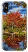 Fall Reflections In Maine Img 6312 IPhone Case