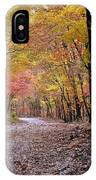 Fall Road IPhone Case