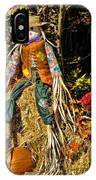 Fall Scarecrow IPhone Case