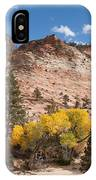Fall Season At Zion National Park IPhone Case