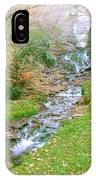 Fall Springs IPhone Case