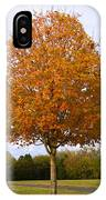 Fall Sugar Maple IPhone Case