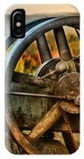 Fall Through The Wheels IPhone Case