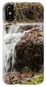Fall Time Waterfalls IPhone Case