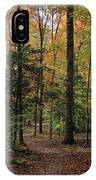 Fall Trail IPhone Case