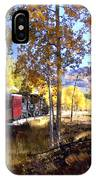 Fall Train Ride New Mexico IPhone Case
