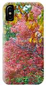 Fall Tree Leaves IPhone Case