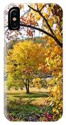 Fall Trees 4 Of Wnc IPhone Case