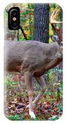 Fall Trophy Buck IPhone Case