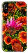 Fallen Coneflower IPhone Case