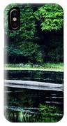 Fallen Log In A Lake IPhone Case