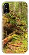 Fallen Rainforest Giant IPhone Case